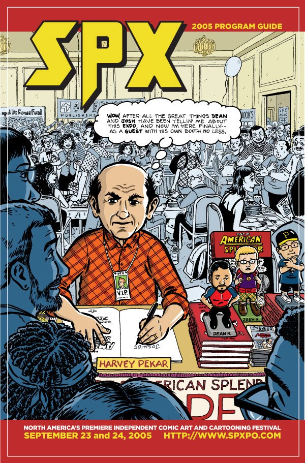 SPX 2005 Program Guide featuring Harvey Pekar
