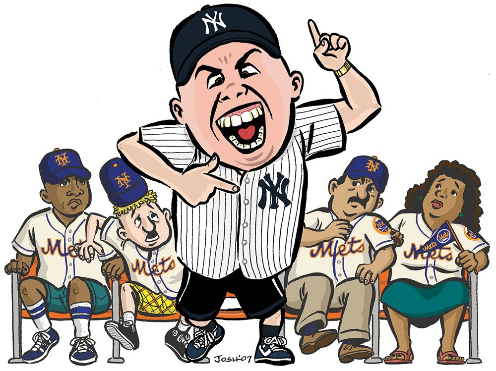 "The Washington Post - ""Yankee Fans Losing with a Vengeance"""