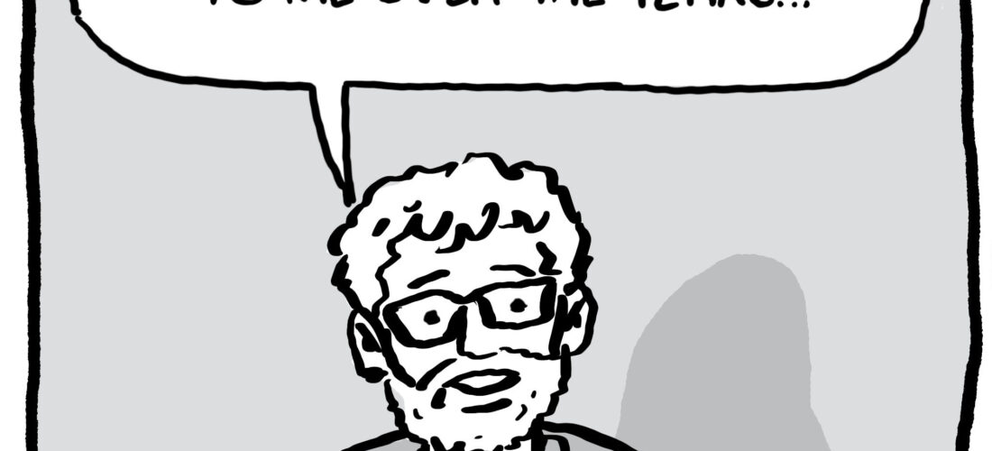 Josh Neufeld Name Story panel 1