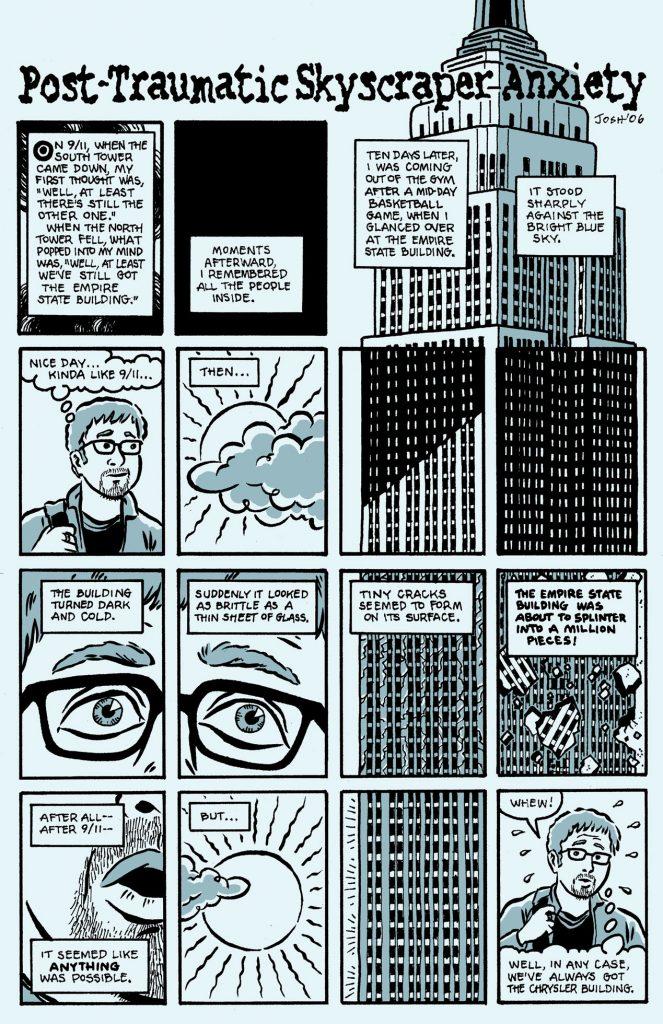 Post-Traumatic Skyscraper Anxiety